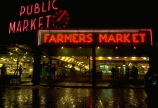 Pike Street Market Seattle WA